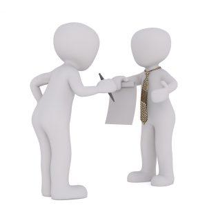 sopimusta allekirjoitetaan